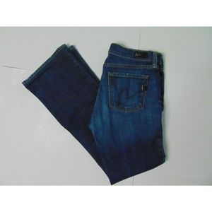 Citizens Of Humanity 29 Amber Boot Cut Blue Jeans
